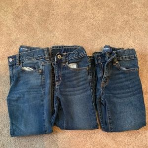 Old Navy Lot of 3 pair boys jeans size 6